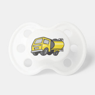 Baby Fuel Tanker Cartoon Pacifier