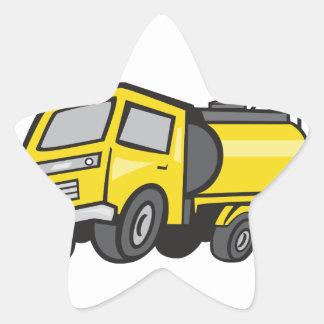 Baby Fuel Tanker Cartoon Star Sticker