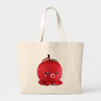 baby-fur-octopus-chibi large tote bag