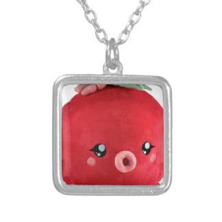 baby-fur-octopus-chibi silver plated necklace