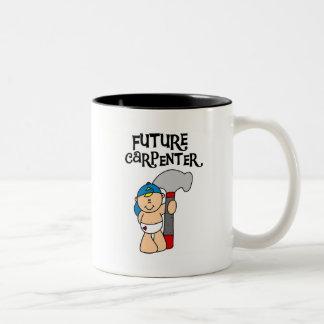 Baby Future Carpenter Tshirts and Gifts Mugs