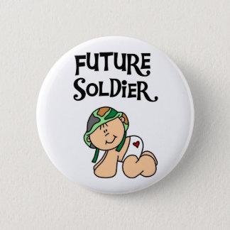 Baby Future Soldier 2 Inch Round Button