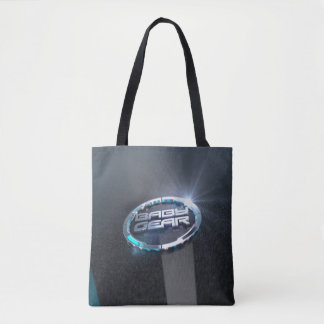 Baby Gear Blue Tote Bag