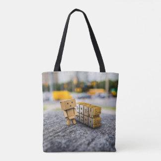 Baby Gear Box Boy Tote Bag