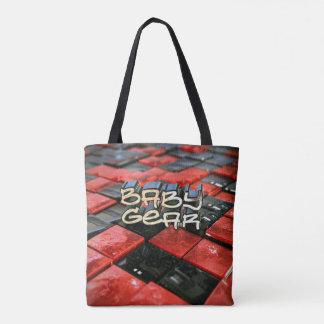 Baby Gear Checkerboard Tote Bag