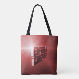 Baby Gear Red Tote Bag
