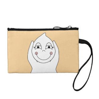 Baby Ghost Playing Coin Purses