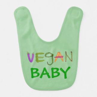 Baby Gift for Vegan Expecting Mother Vegan Baby Bib