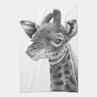 Baby Giraffe American MoJo Kitchen Towels