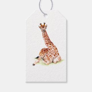 Baby Giraffe Gift Tags