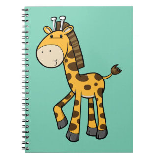 Baby Giraffe Notebook