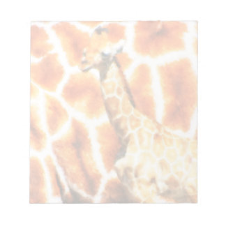 Baby Giraffe Notepad