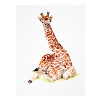 Baby Giraffe Photo Print