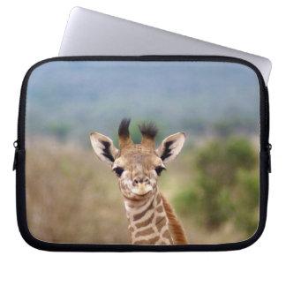 "Baby giraffe picture, Kenya, Africa   10"" Computer Sleeve"