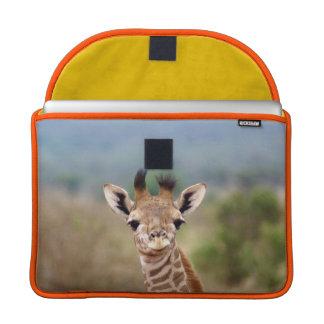 "Baby giraffe picture, Kenya, Africa   13"" MacBook Pro Sleeve"