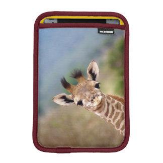 Baby giraffe picture, Kenya, Africa | iPad Mini Sleeve
