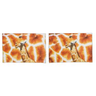 Baby Giraffe Pillowcase