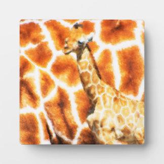Baby Giraffe Plaque