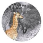 Baby Giraffe Plate
