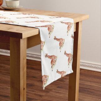 Baby Giraffe Short Table Runner