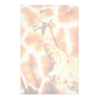 Baby Giraffe Stationery