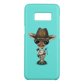Baby Giraffe Zombie Hunter Case-Mate Samsung Galaxy S8 Case