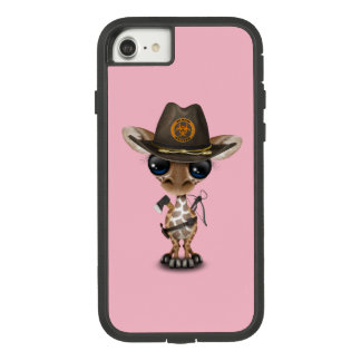 Baby Giraffe Zombie Hunter Case-Mate Tough Extreme iPhone 8/7 Case