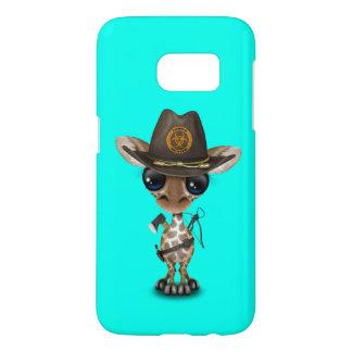 Baby Giraffe Zombie Hunter Samsung Galaxy S7 Case