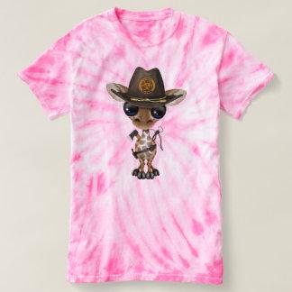 Baby Giraffe Zombie Hunter T-shirt