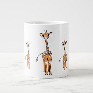 Baby Giraffe's Large Coffee Mug