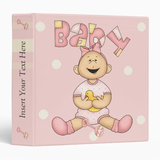 Baby Girl Avery Binder