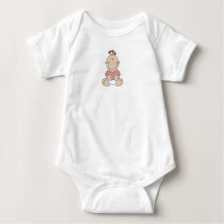 Baby Girl Baby Jersey Bodysuit