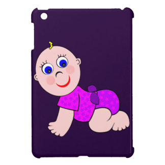 Baby Girl Bald Case For The iPad Mini