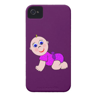 Baby Girl Bald Case-Mate iPhone 4 Case