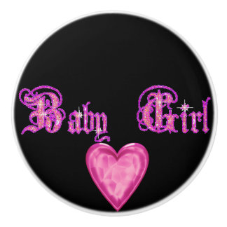 Baby Girl Bedroom Ceramic Knob