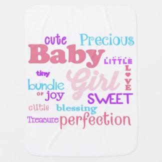 Baby Girl Blanket Receiving Blankets