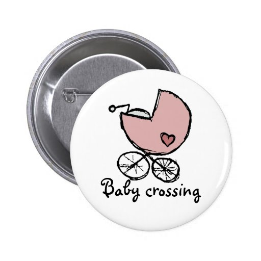 Baby girl buggy - baby crossing pins