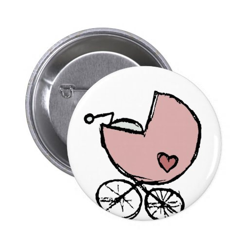 Baby girl buggy pin