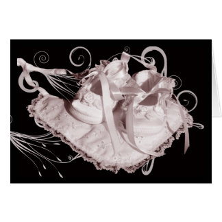 Baby Girl congratulations new baby Greeting Card
