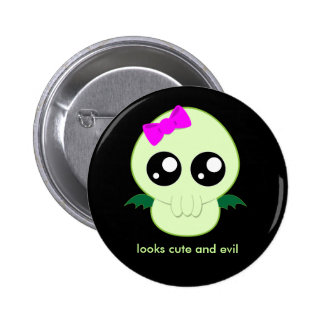 Baby Girl Cthulhu 2 Inch Round Button