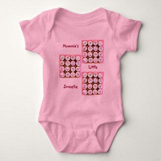 Baby Girl Cupcakes Baby Bodysuit