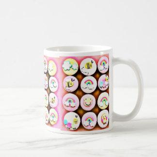 Baby Girl Cupcakes Basic White Mug