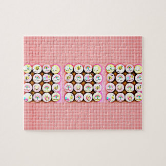 Baby Girl Cupcakes Puzzles