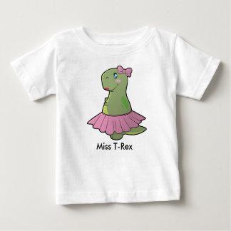 Baby Girl Dinosaur Miss T-Rex Shirt