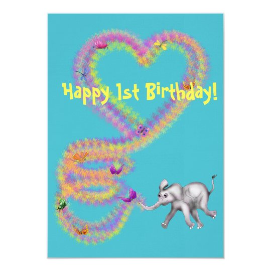 Baby Girl Elephant by The Happy Juul Company Card