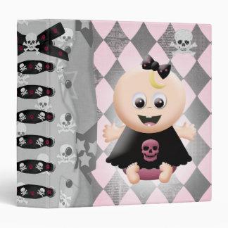 Baby Girl Emo Diva Notebook Binders
