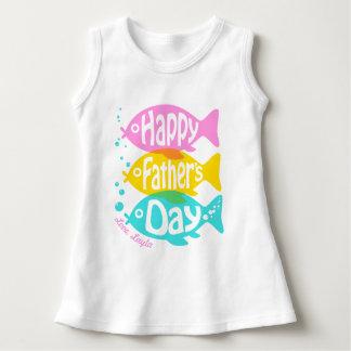 Baby Girl Fathers Day Dress Girls Fish Dress