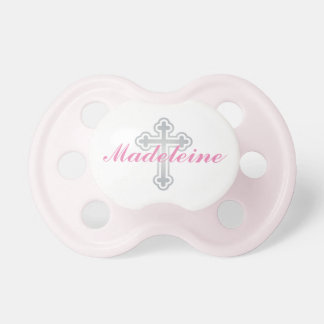 Baby Girl First Name | Silver Cross Pacifier