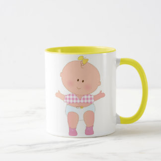 Baby Girl First Step Mug