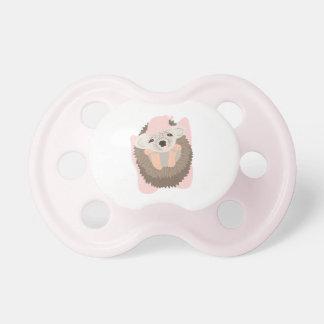 Baby Girl Hedgehog Pacifier